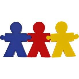 Advertising Teamwork Puzzle Set
