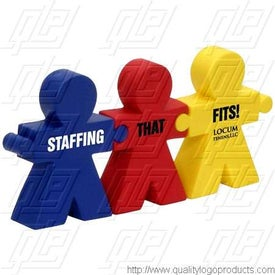 Team Work Puzzle Stress Ball