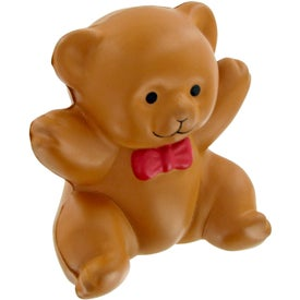 Teddy Bear Stress Toy Printed with Your Logo