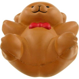 Teddy Bear Stress Toy with Your Slogan