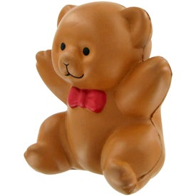 Company Teddy Bear Stress Toy
