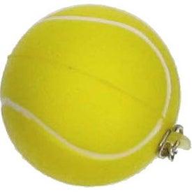 Company Tennis Stress Ball Key Chain