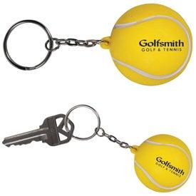 Tennis Stress Ball Key Chain
