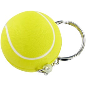 Tennis Ball Keychain Stress Toy for Your Company