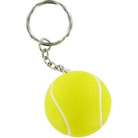 Custom Tennis Ball Keychain Stress Toy