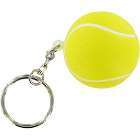 Tennis Ball Keychain Stress Toy for Promotion