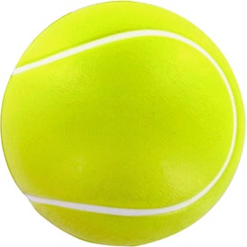 Tennis Ball Stress Toy Imprinted with Your Logo