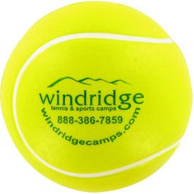Advertising Tennis Ball Stress Toy