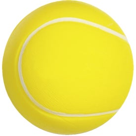 Tennis Ball Stress Ball Branded with Your Logo