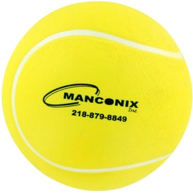 Tennis Ball Stress Ball Imprinted with Your Logo