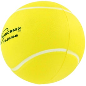 Logo Tennis Ball Stress Ball