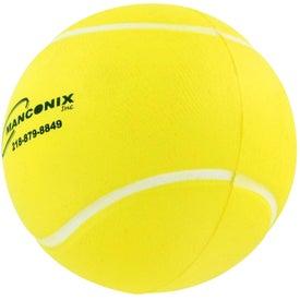 Logo Tennis Ball Stress Ball