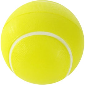 Printed Tennis Ball Stress Ball