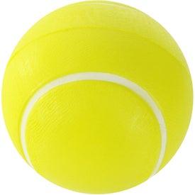 Printed Tennis Ball Stress Ball