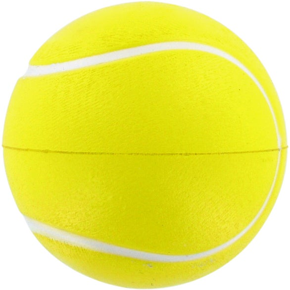 Yellow Tennis Ball Stress Ball