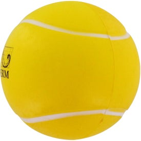 Company Tennis Ball Stress Reliever