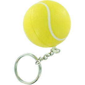 Tennis Stress Ball Key Chain for your School