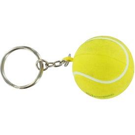 Custom Tennis Stress Ball Key Chain