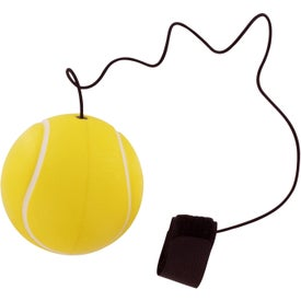 Imprinted Tennis Ball Stress Ball Yo Yo