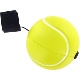 Imprinted Tennis Ball Yo-Yo Stress Toy