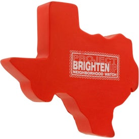 Custom Texas Stress Ball