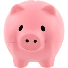 Customized Thrifty Pig Stress Ball