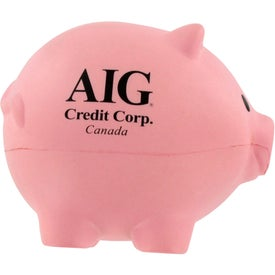 Thrifty Pig Stress Ball for Advertising