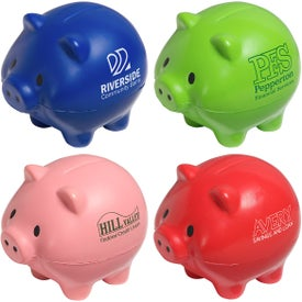 Thrifty Pig Stress Ball for Your Company