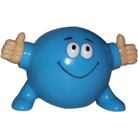 Monogrammed Thumbs Up Poppin' Pal Stress Ball