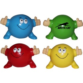 Advertising Thumbs Up Poppin' Pal Stress Ball