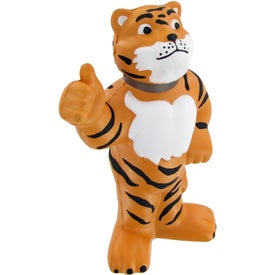 Company Thumbs-Up Tiger Stress Toy