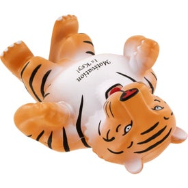 Tiger Mascot Stress Ball for Promotion