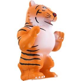 Promotional Tiger Mascot Stress Ball