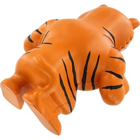 Monogrammed Tiger Mascot Stress Ball
