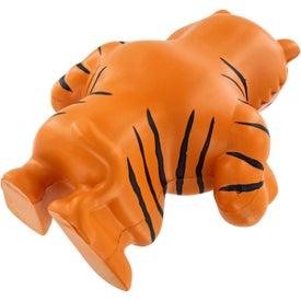 Monogrammed Tiger Mascot Stress Ball
