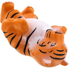 Tiger Mascot Stress Ball Imprinted with Your Logo