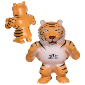 Tiger Mascot Stress Ball for Marketing