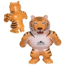 Tiger Mascot Stress Ball for Marketing