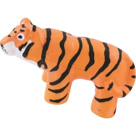 Tiger Stress Reliever Imprinted with Your Logo