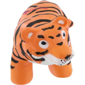 Tiger Stress Reliever Printed with Your Logo