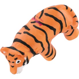 Tiger Stress Reliever with Your Logo