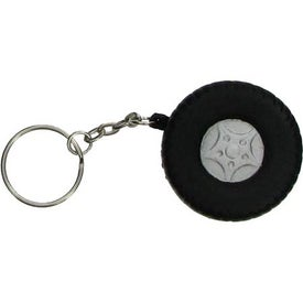 Logo Tire Key Chain Stress Ball