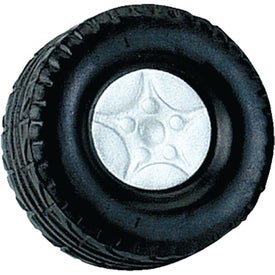 Personalized Tire Stress Ball