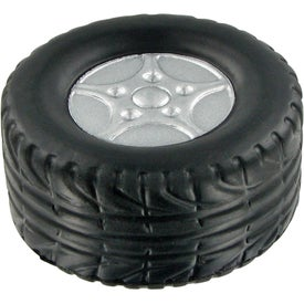 Tire Stress Ball Branded with Your Logo