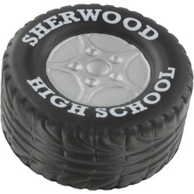 Tire Stress Ball Giveaways
