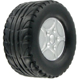 Tire Stress Ball Imprinted with Your Logo