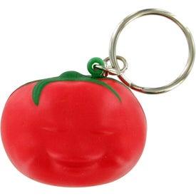 Tomato Keychain Stress Toy
