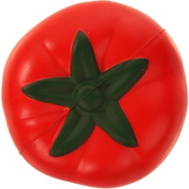 Tomato Stress Ball Imprinted with Your Logo