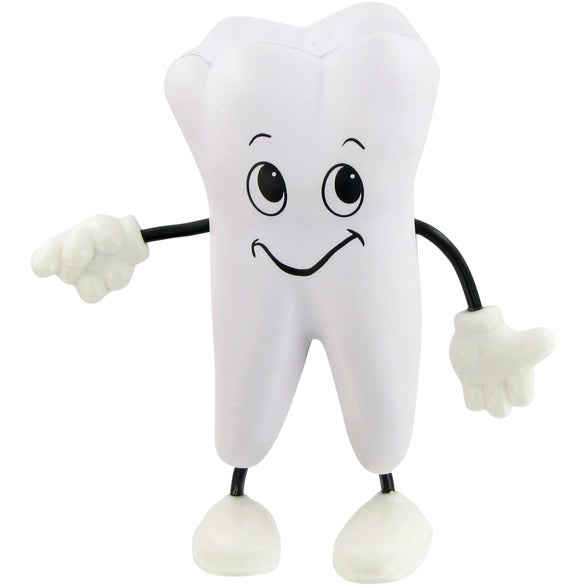 Tooth Man Figure Stress Toy