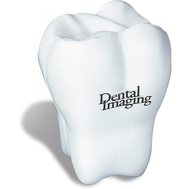 Branded Tooth Shaped Stress Reliever